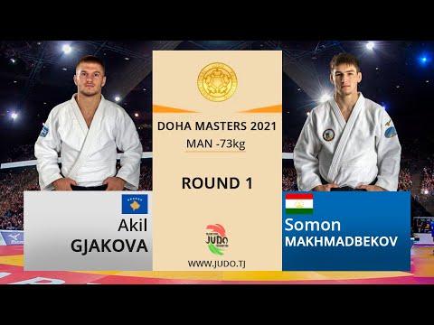 Акил ГЯКОВА vs Сомон МАҲМАДБЕКОВ, Round 1, -73kg, Doha Masters 2021