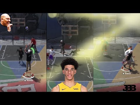 LONZO BALL CHALLENGE!!! | TRIPLE DOUBLE AT THE PARK | NBA 2K18 PLAYGROUND