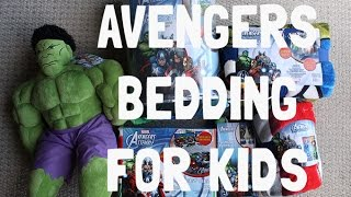 Cool New Avengers Bedding for Kids at Walmart