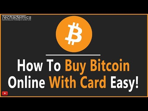 How To Buy Bitcoins With A Credit Card 2021 - Quick \u0026 Easy!