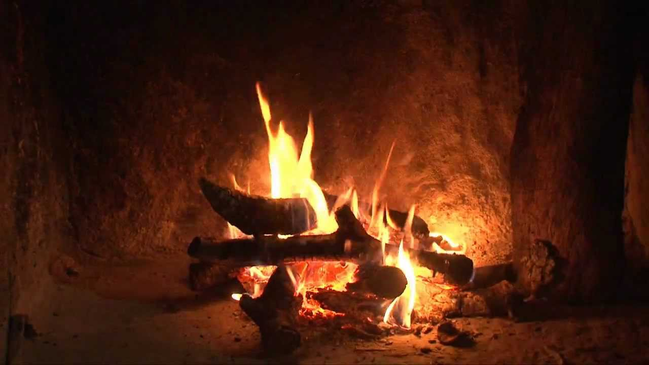 Fireplace On Tv Fireplace Hd. Nature Relaxing Sounds. New Video Hd - Youtube