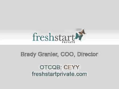 10-2-13 SmallCapVoice Interview with Fresh Start Private Management Inc. (CEYY)