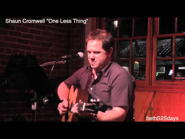 "Shaun Cromwell - ""One Less Thing"""