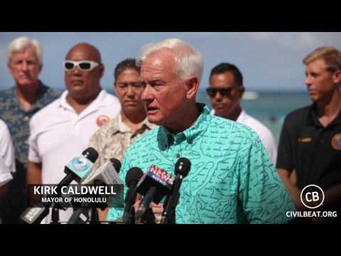 Ocean Safety Statewide Press Conference: Honolulu Mayor Kirk Caldwell