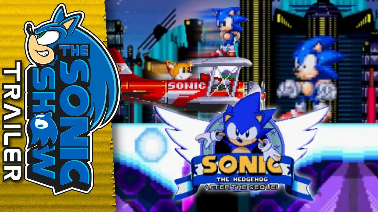 The fan made Sonic trilogy you have to play