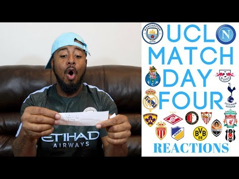 Man City & Tottenham Hotspur Qualify To UCL Round Of 16| UCL MATCH DAY 4 Reactions E,F,G,H