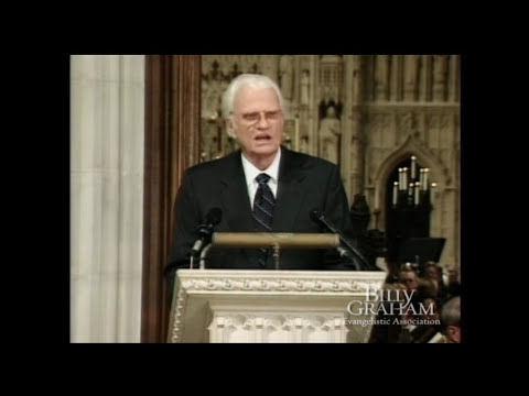 Billy Graham's 911 Message from the Washington National Cathedral
