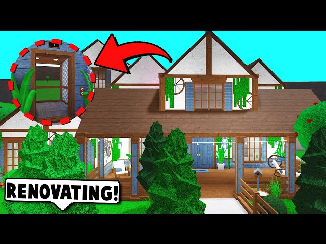 I Spent 24 Hours In Someones House Roblox Bloxburg Youtube - Renovating My House Using The New Update Items Roblox Bloxburg