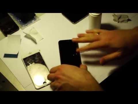 Как выбрать и наклеить защитное стекло для iPhone 6
