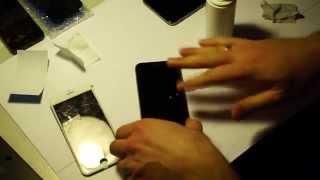 Как выбрать и наклеить защитное стекло для iPhone 6(, 2014-12-08T11:36:09.000Z)
