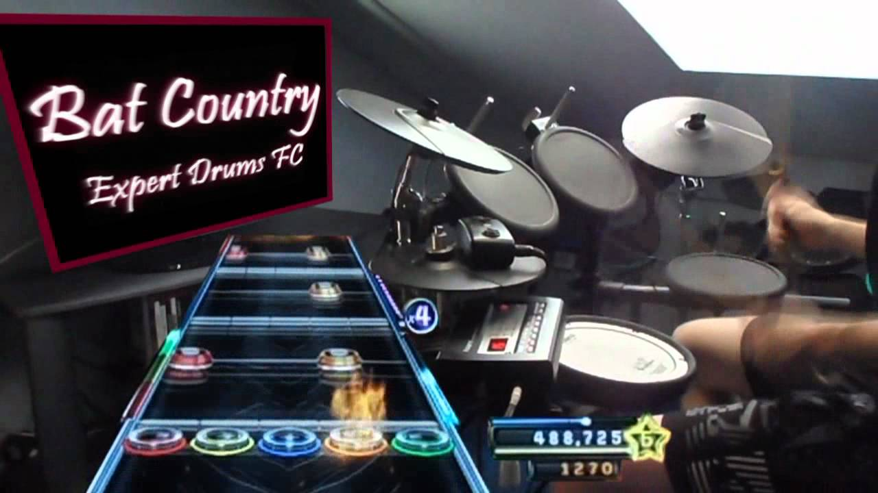 Bat Country Expert Drums 100 Fc World Record Youtube