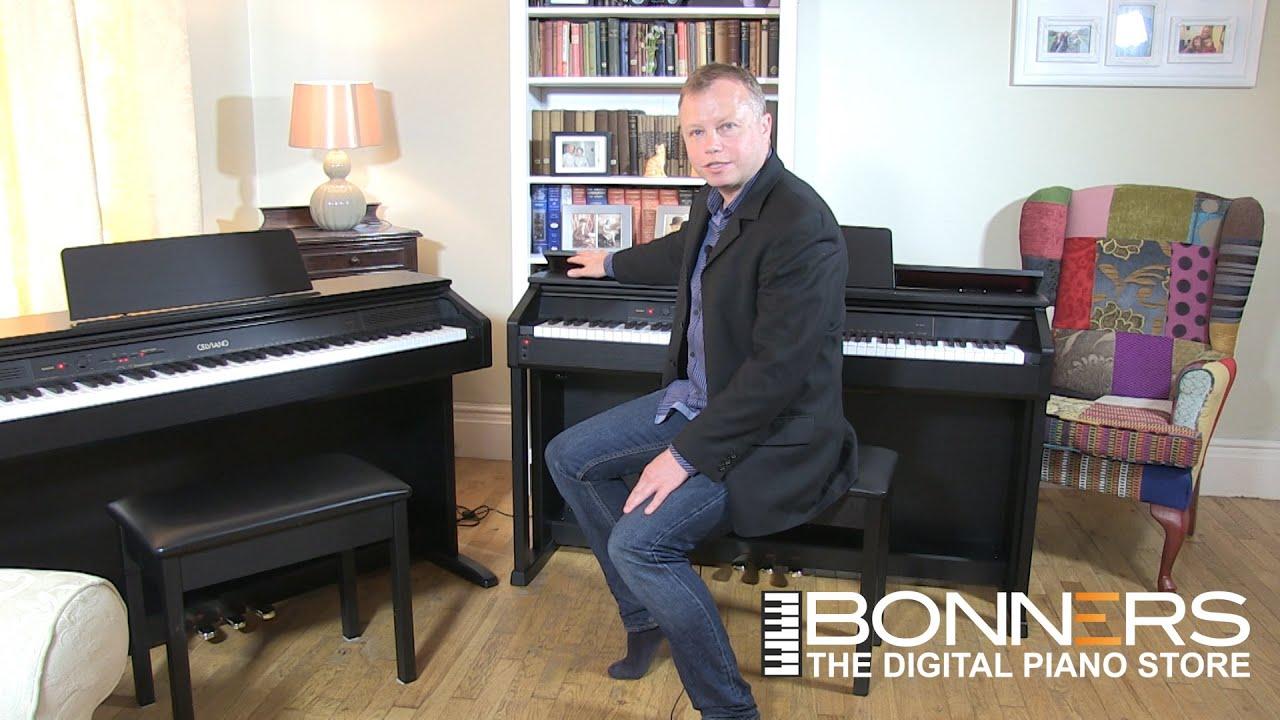 casio ap260 vs ap460 celviano digital pianos uk comparison demo buyers guide youtube. Black Bedroom Furniture Sets. Home Design Ideas