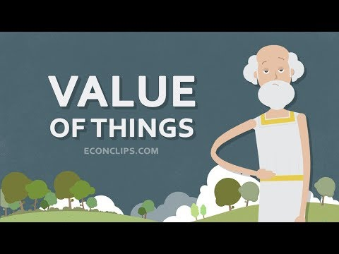 💧💎 The Value Of Things - How Do We Determine It?
