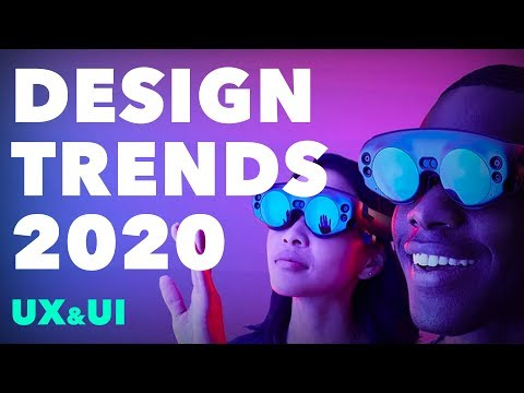 Design Trends 2020 (For UX / UI Designers)