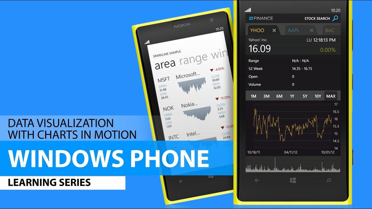 Windows phone 10 data - Windows Phone Data Visualization With Charts In Motion
