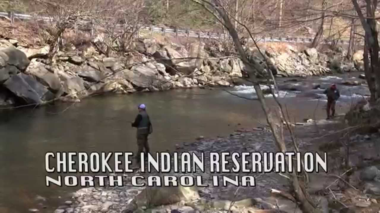 Cherokee North Carolina Trout Fishing