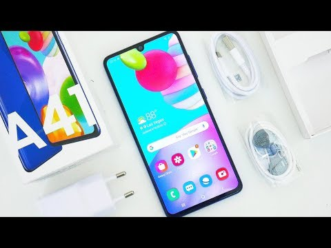 Samsung Galaxy A41 Unboxing & First Impressions!