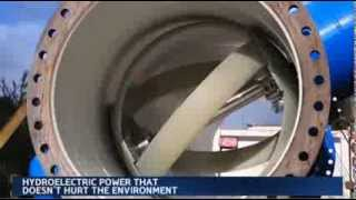 Turning Water Pipes into Electric Generators