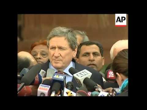 US special envoy meets Indian officials for talks