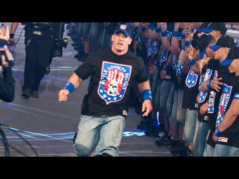 John Cena's WrestleMania entrances: WWE Playlist