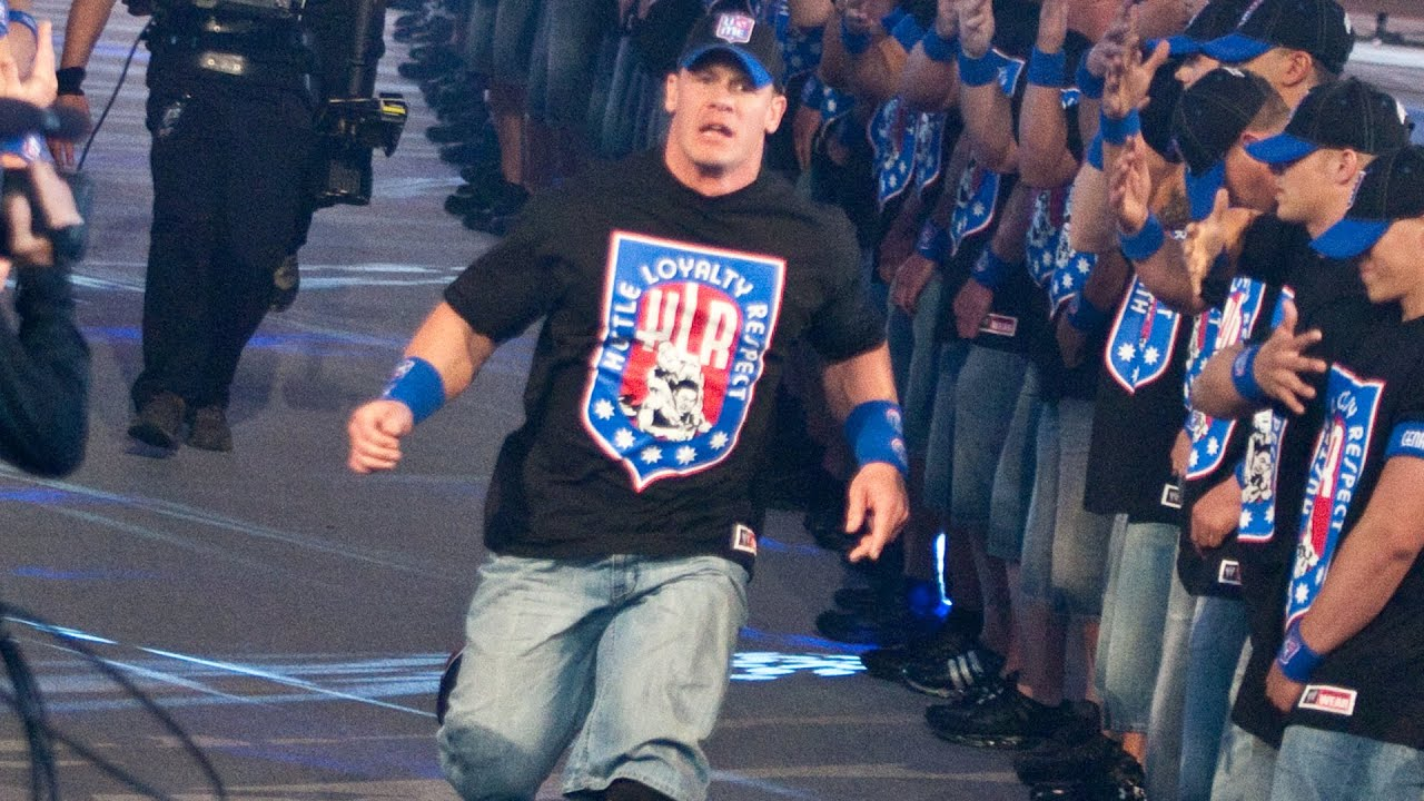 Download John Cena's WrestleMania entrances: WWE Playlist