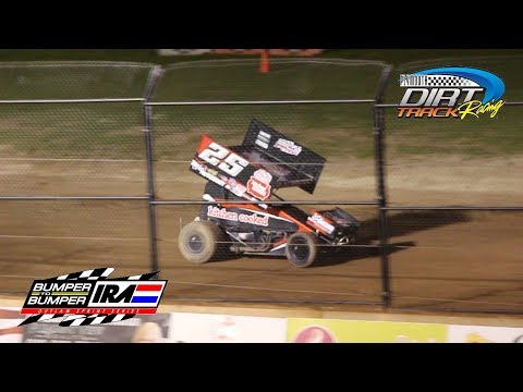 IRA 410 Outlaw Sprints @ Plymouth Dirt Track | A Main Feature Race (6-8-2019)
