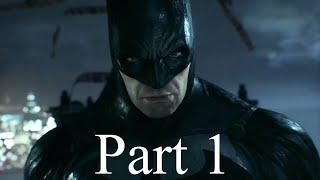 Batman Arkham Knight Walkthrough Gameplay Part 1 - Ivy [PS4]
