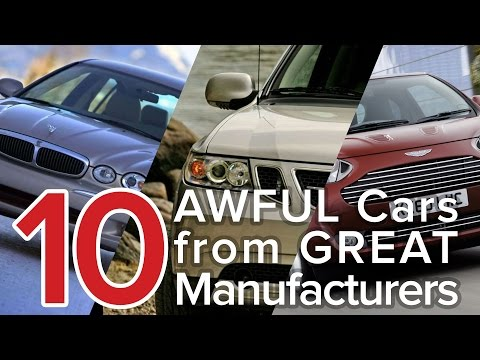 Top 10 Awful Cars From Great Manufacturers: The Short List