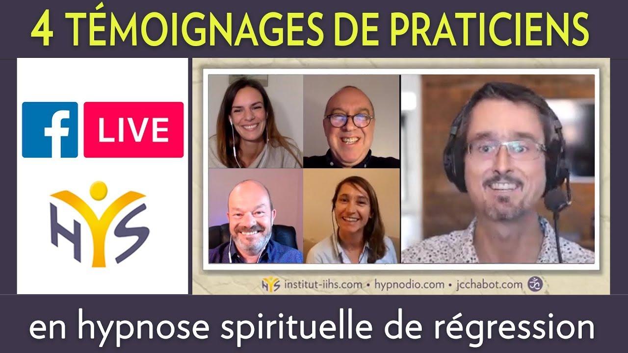 ENTREVUE-TÉMOIGNAGES de PRATICIENS EN HYPNOSE SPIRITUELLE DE RÉGRESSION