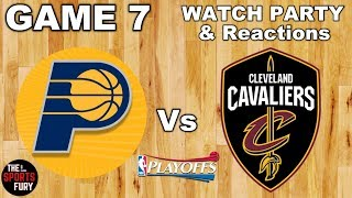 Pacers vs Cavaliers Game 7   Watch Party & Reactions
