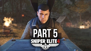 Sniper Elite 4 Walkthrough Part 5 - LORINO DOCKYARD (Mission 4)