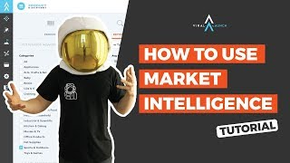 How to Use Market Intelligence Tutorial by Viral Launch | Amazon Product Research Tool