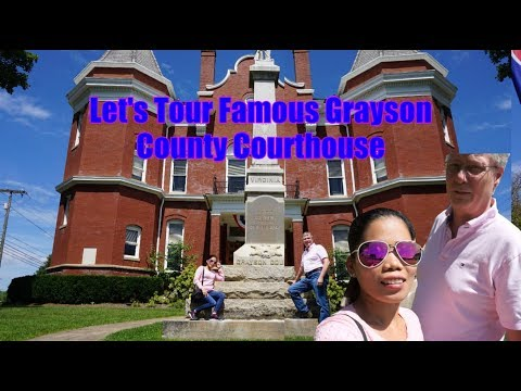 Travel Vlog Filipina Married To American Our Life In America    Lets Tour The Famous Grayson County