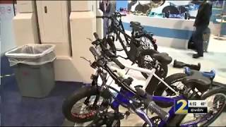 Electric bikes are big hit at Consumer Electric Show