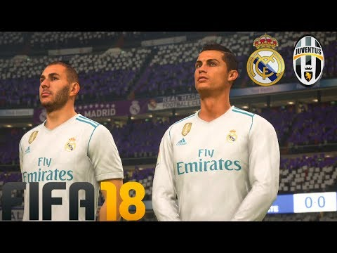 FIFA 18 DÉMO (FR) - REAL MADRID VS JUVENTUS | PS4 PRO