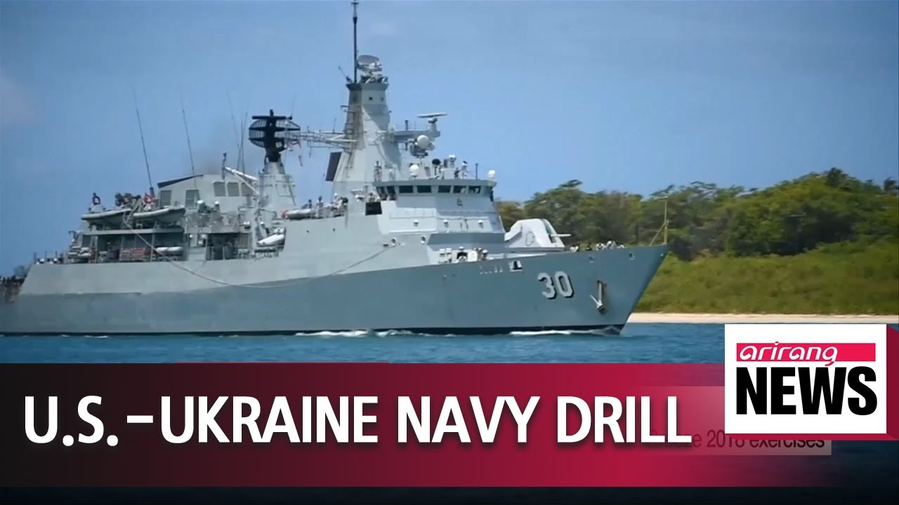Two U S  Navy ships enter Black Sea for multinational Sea Breeze 2018  exercises