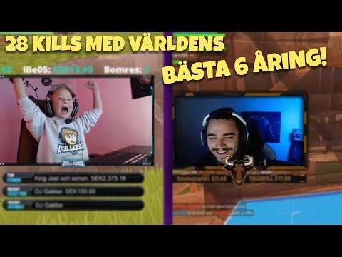 28 KILLS MED DULLE2012, JAPPE & ZAITR0S!   Fortnite på Svenska
