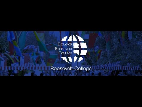 2014 Eleanor Roosevelt College Commnencement
