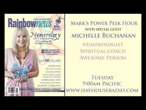 Michelle Buchanan on Mark Husson's Power Peek Hour Hay House Radio Dec 2013