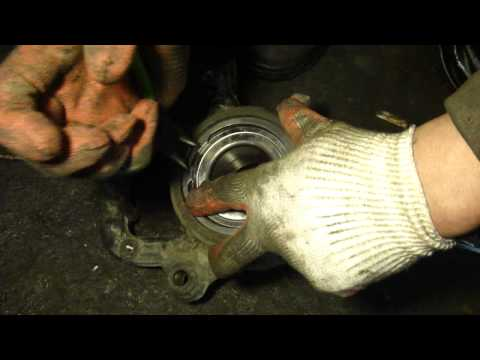 How to Replace a Front Wheel Bearing VW Touareg