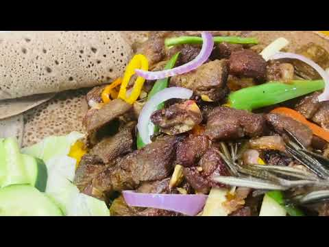 How To Make Ethiopian Food Goat Meat Tibs Recipe