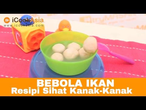 Bebola Ikan | Resipi Sihat Kana-Kanak | Nutrition Society of Malaysia | Try Masak | iCookAsia