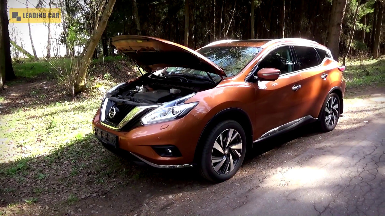 Replacing The Engine Filter Nissan Murano