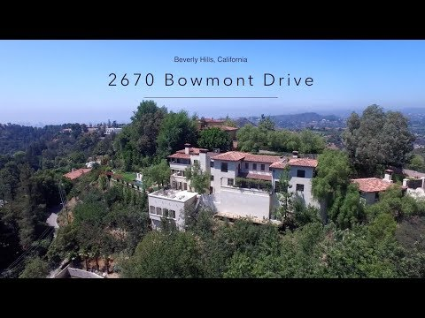 2670 Bowmont Dr. Beverly Hills CA