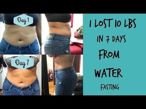 Last Day Of Water Fasting Day 7 And Results