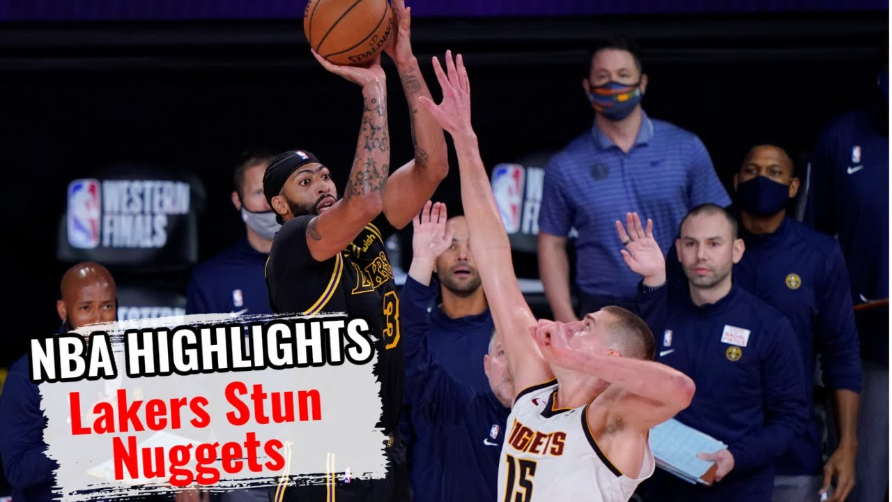 🆕LA Lakers Stun Denver Nuggets At The Buzzer ➡ Lebron Praises Ad For Clutch Shot| FYF Sports Debates