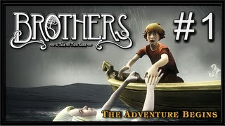 Brothers - A Tale of Two Sons PC Gameplay - Part 1 - The Adventure Begins