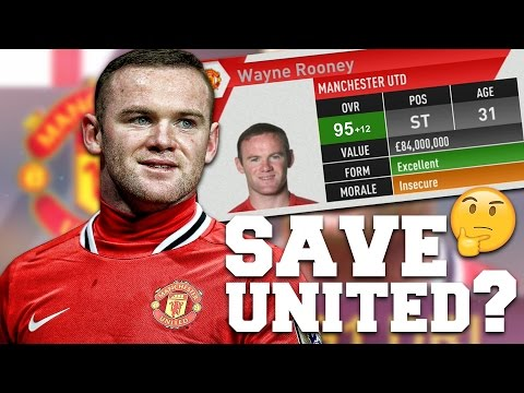 COULD FIFA 12 WAYNE ROONEY SAVE MAN UNITED? FIFA 17 Experiment
