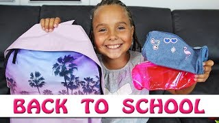 BACK TO SCHOOL : Mes fournitures scolaire