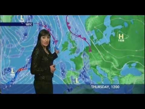 Jean Byrne RTE Weather - YouTube